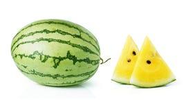 Yellow watermelon Royalty Free Stock Photos