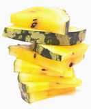 Yellow watermelon Stock Image
