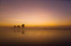 Yellow Waters Sunrise Stock Photography