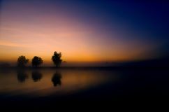 Yellow Waters Sunrise Royalty Free Stock Images