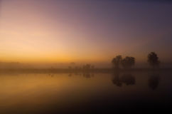 Yellow Waters Sunrise Stock Images