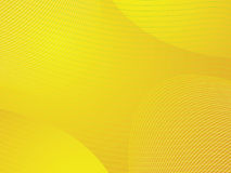 Yellow wavy background Stock Photo