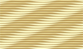 Yellow Wavy background Royalty Free Stock Photography