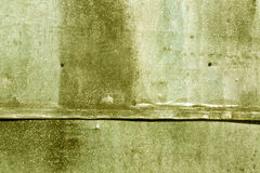 Yellow weathered metal sheet texture. Abstract background and texture for design Stock Photography