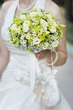 Yellow wedding flowers bouquet Stock Images