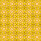 Yellow and white abstract. Royalty Free Stock Photo