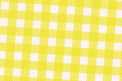 Yellow and White Computer Generated Abstract Plaid Pattern Stock Image
