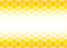 Yellow and white Hexagon geometric abstract background vector design illustration. Yellow Hexagon geometric abstract background vector design for business vector illustration