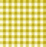 Yellow and white tablecloth texture wallpaper Stock Photo