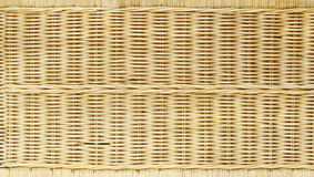 Yellow wicker background Royalty Free Stock Photography