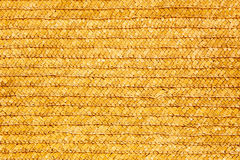 Yellow wicker plaiting Stock Images