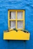 Yellow window Royalty Free Stock Photography