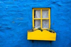 Yellow window Stock Image