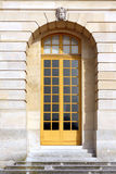 Yellow window door Royalty Free Stock Photography
