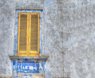 Yellow window Royalty Free Stock Photos