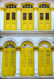 Yellow Windows Royalty Free Stock Images