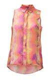 Yellow woman shirt Royalty Free Stock Image