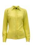 Yellow woman shirt Royalty Free Stock Photo
