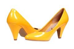 Free Yellow Women S Heel Shoes Stock Photo - 23668520