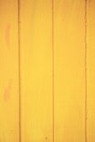 Yellow wood background Royalty Free Stock Image