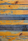 Yellow Wood Background Royalty Free Stock Photography