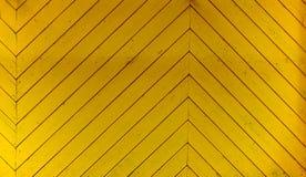 Yellow wood background Royalty Free Stock Image