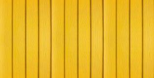Yellow wood banner background Stock Photo