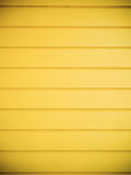 Yellow wood panel wall Royalty Free Stock Photos