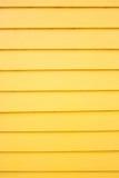 Yellow wood plank panel background Stock Photo
