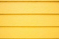 Yellow wood plank panel background Stock Photos