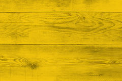 Yellow wood structure as a background texture Stock Photography