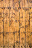 Yellow wood texture background Royalty Free Stock Photography
