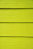Yellow wood wall Stock Photography