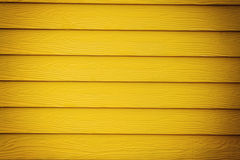Yellow wood wall background Royalty Free Stock Photo