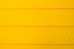 Yellow wood wall Royalty Free Stock Image