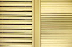Yellow Wood Windows Stock Photos
