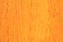 Yellow wooden background. Oak table-top with prominent grain Stock Image