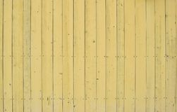 Yellow wooden background stock photo