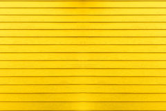 Yellow wooden background Stock Photography