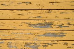 Yellow wooden background royalty free stock photo