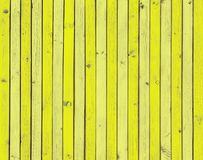 Yellow wooden boards, yellow painted wood background texture Stock Photo