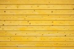 Yellow wooden fence Royalty Free Stock Photos