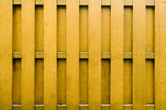 Yellow wooden fence background. Royalty Free Stock Images