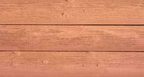 Yellow wooden plank wall texture for usage as background Royalty Free Stock Images