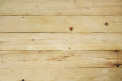 Yellow Wooden Planks Background Royalty Free Stock Photos