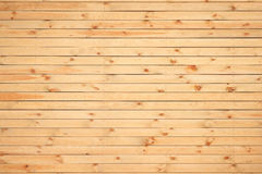 Yellow wooden planks Stock Image
