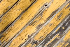 Yellow wooden texture Royalty Free Stock Photo