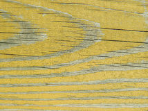 Yellow wooden texture Royalty Free Stock Photos