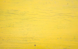 Yellow wooden wall background Royalty Free Stock Photography