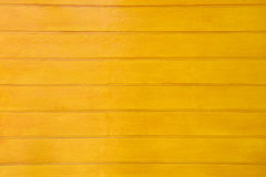 Yellow wooden wall Royalty Free Stock Photography